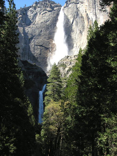Водопад йосемитский